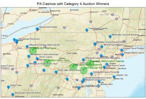 Pennsylvania: Category 4 Casino License Assessments